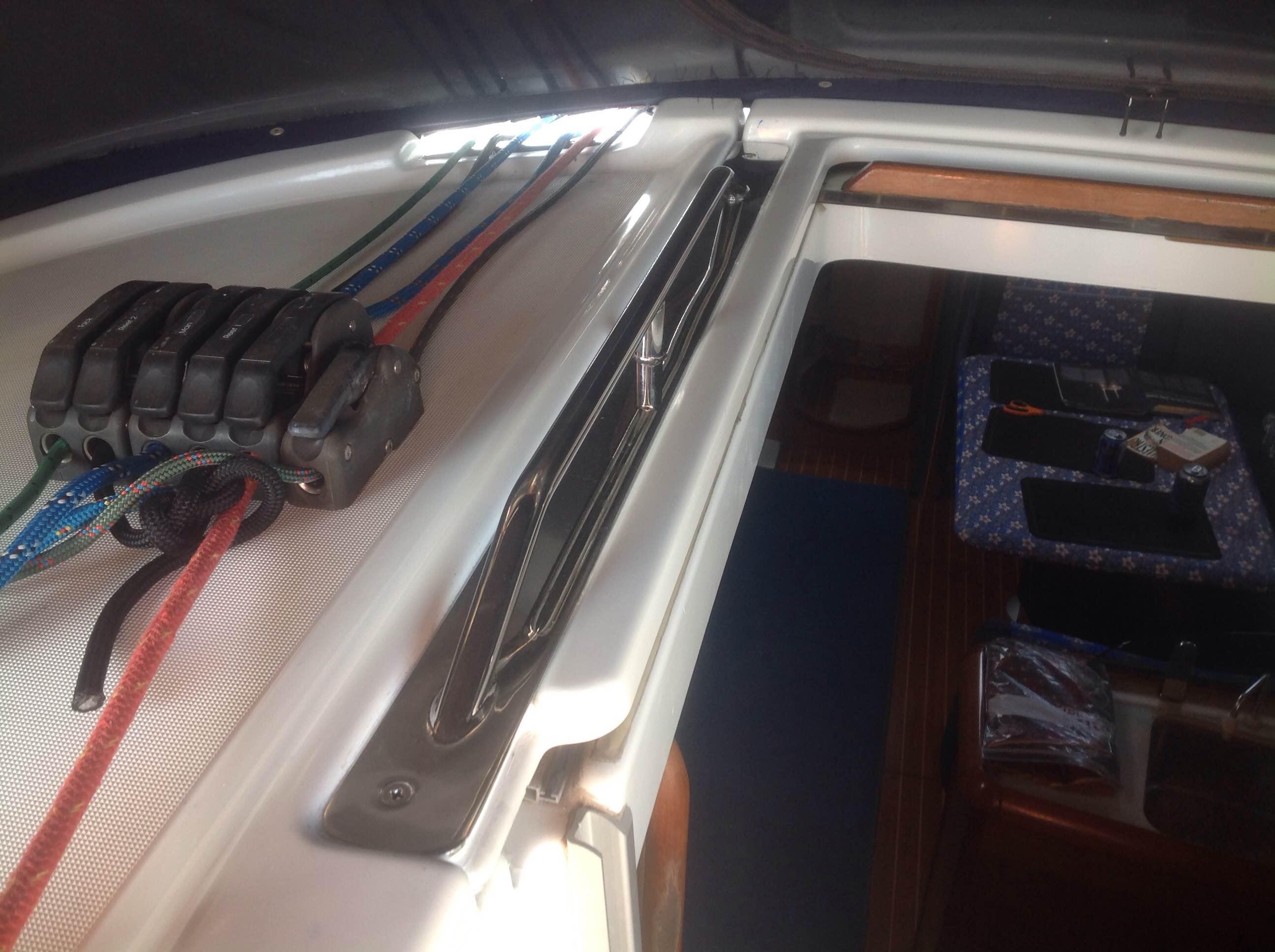 Sun Odyssey 40.3 Handrails - Jeanneau Owners Network